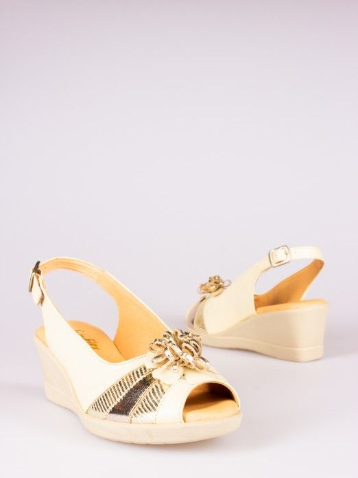 Flower Detail Shoes