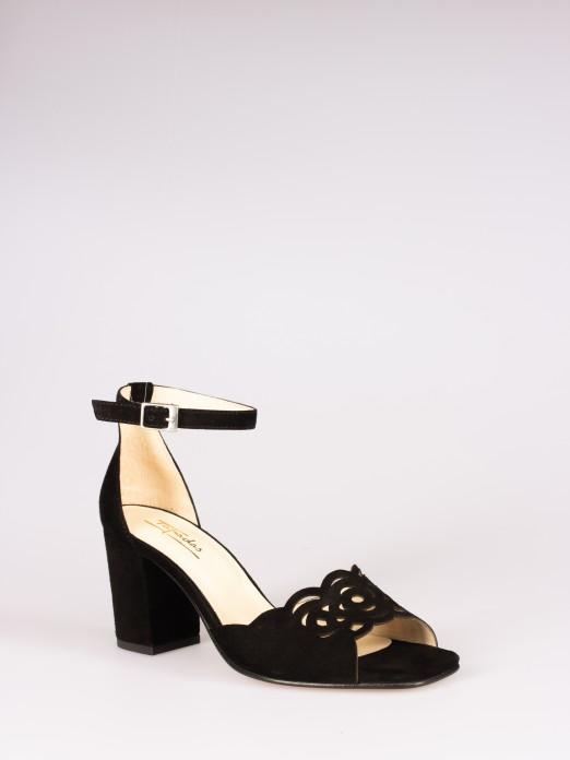 Cut-out Detail Sandals