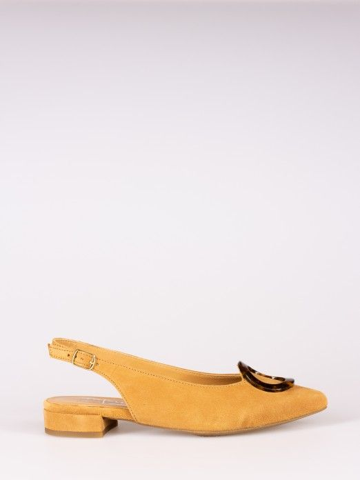 Oval Detail Mules