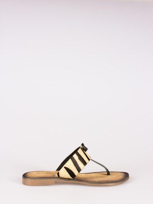 Animal-print Slippers