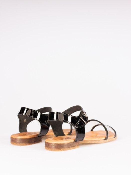 Vinyl Sandals