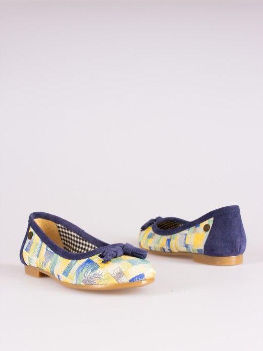 Abstract-Print Ballerinas