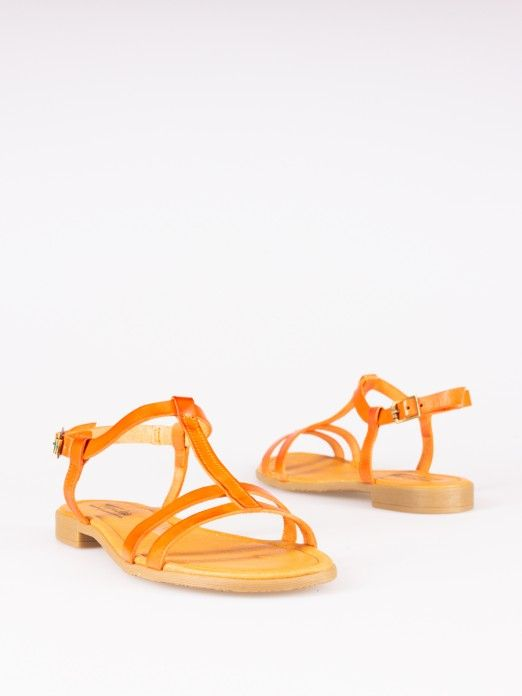 Double Striped Sandals