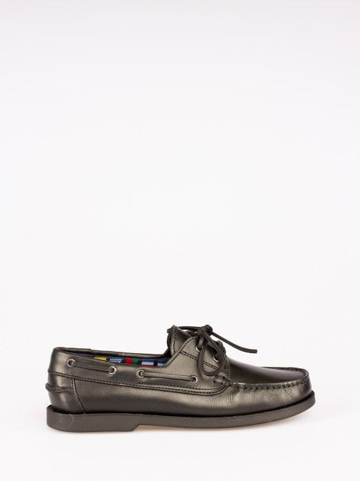 Leather Sailing Shoes