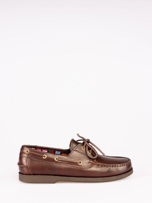 Sapato Vela Pele