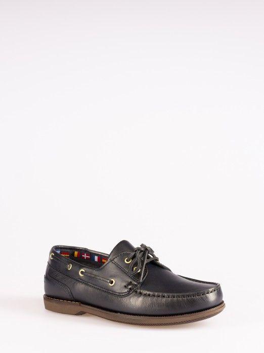 Sapato de Vela Pele