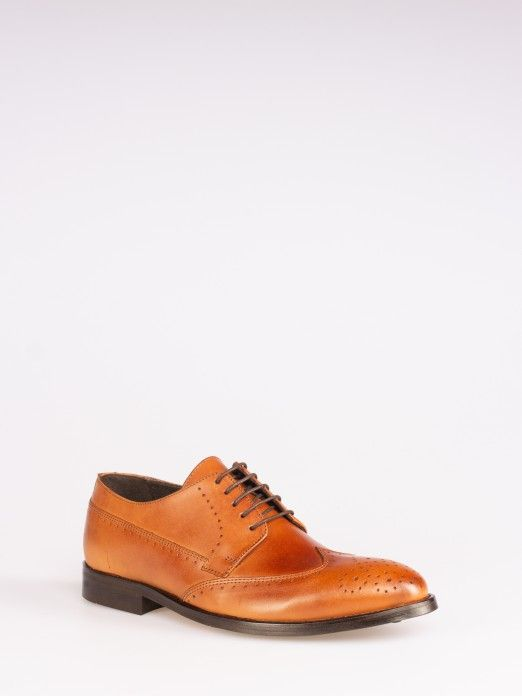 Sapato Oxford Recorte Picotado