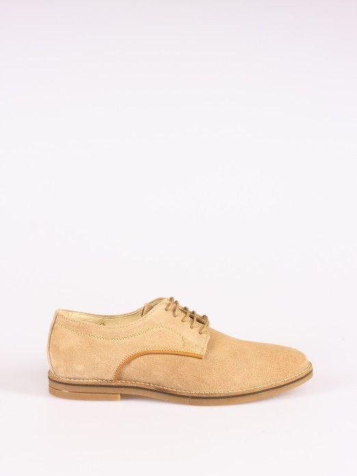 Sapato Casual Camurça