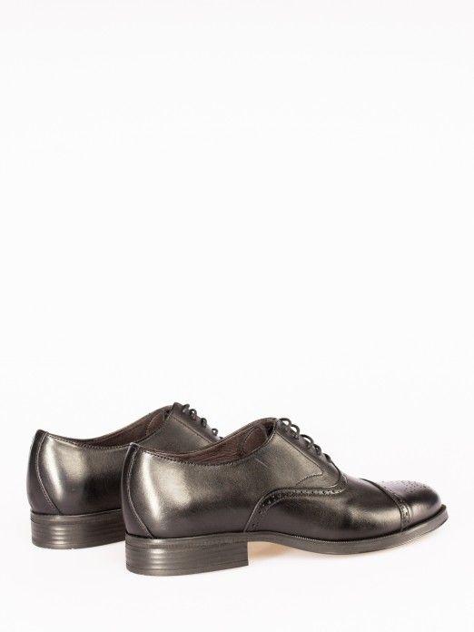 Sapato Oxford Picotado Inglês