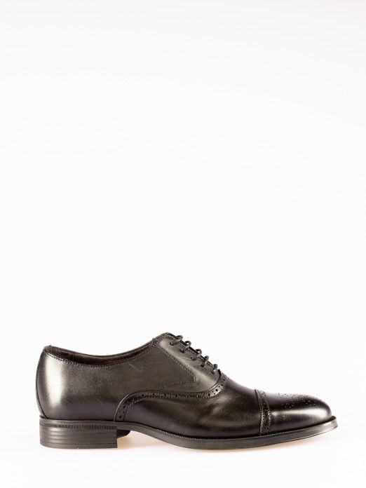 Punch-hole Oxford Shoes