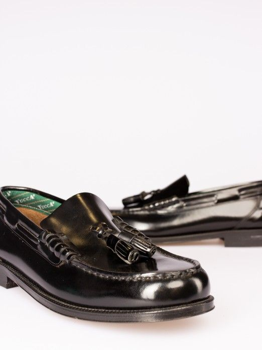 Tassel-Embellished Loafers from Yucca