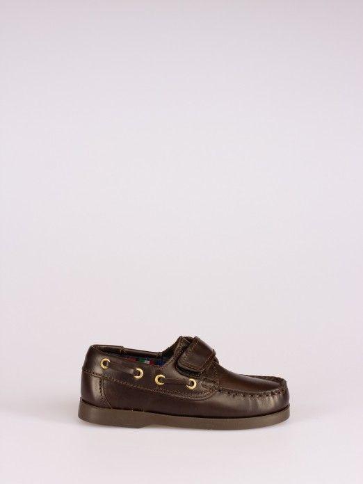 Velcro Strap Sailing Shoes - Sizes 20/27