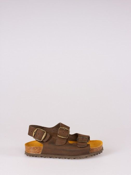 SoftyFlex Triple Buckle Sandals