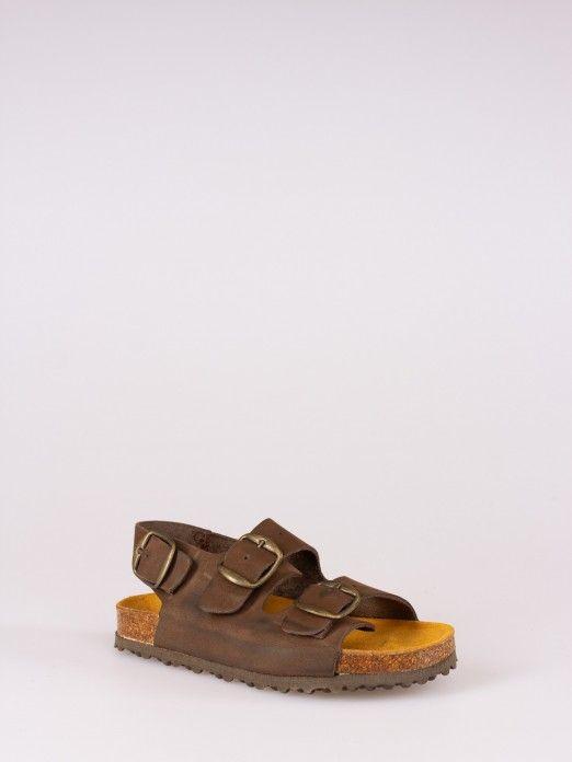 SoftyFlex Triple Buckle Sandals