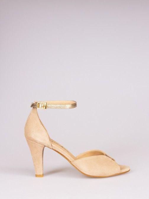 Sandália Clássica Brilho