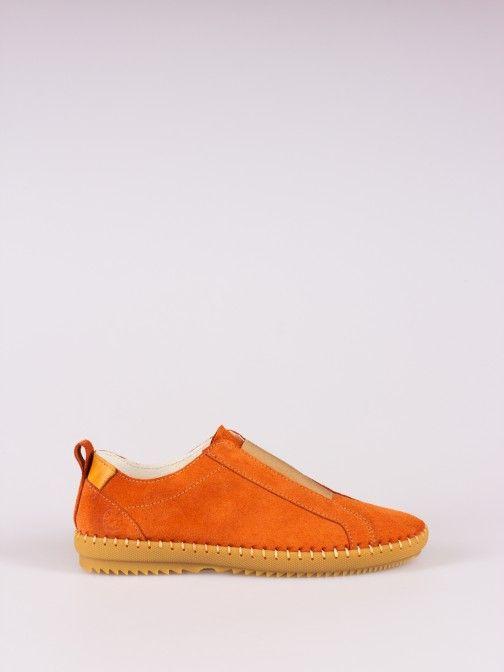 Elasticated Suede Sneakers