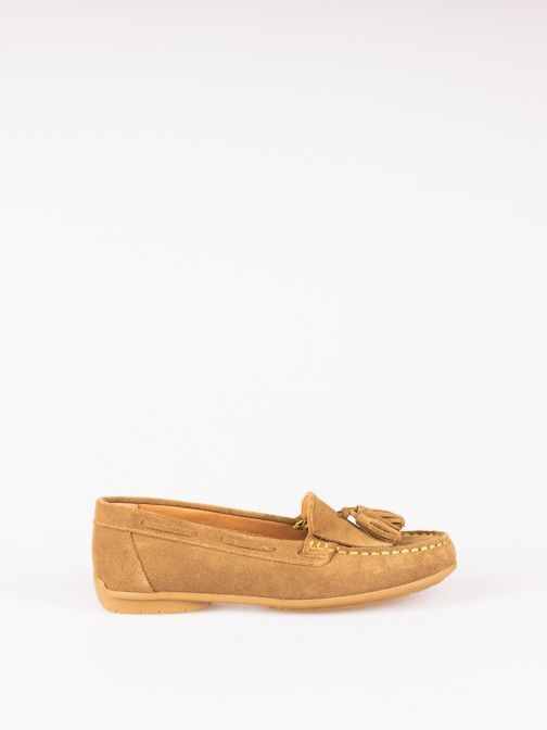 Suede Nautical Moccasins