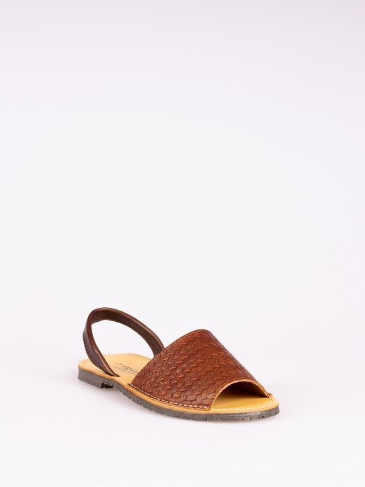 Leather Menorquina Sandal
