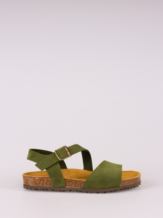 Suede Bio Sandal
