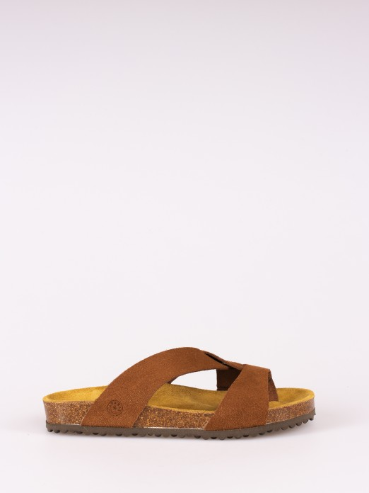 Bio Slipper Crossed Straps