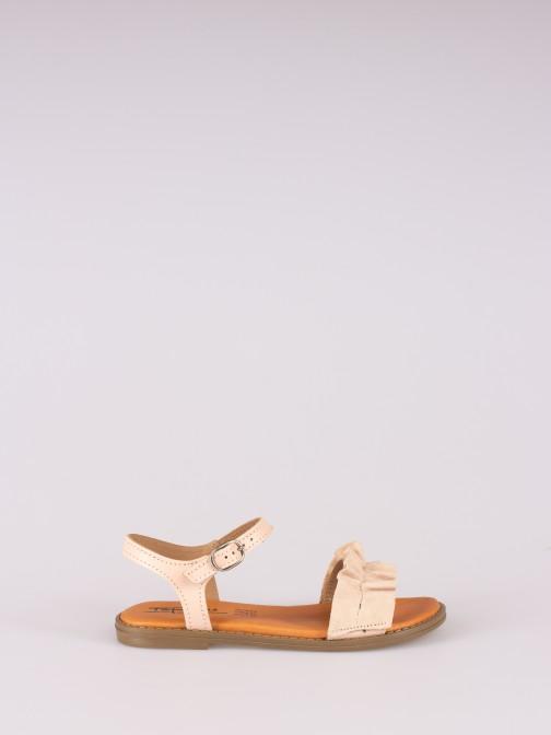 Sandália com Pregas