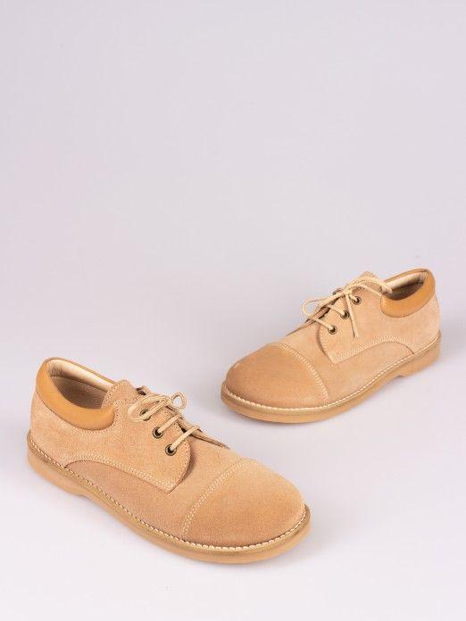 Preppy Lace-up Shoes - Sizes 34/40