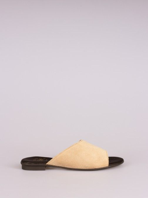 Inside Cut Suede Slipper