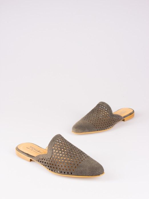 Perforated Mules