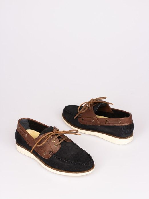 Suede and Leather Sailing Shoes