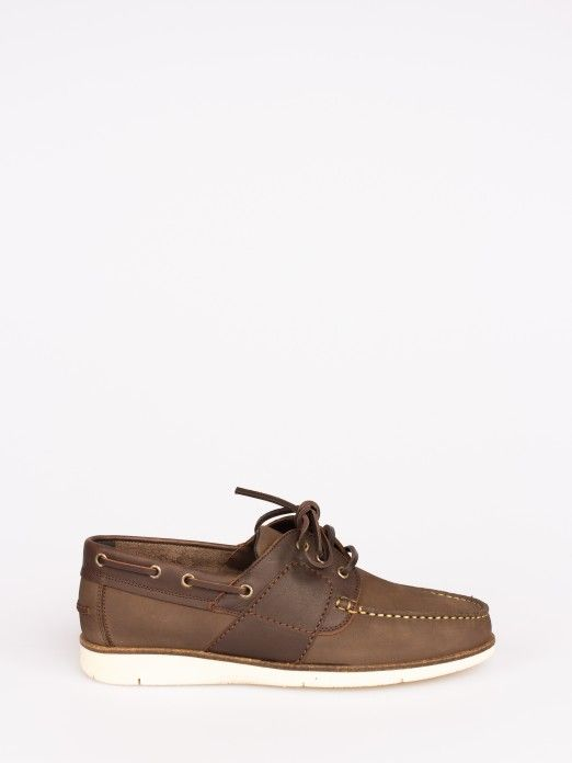 Nubuck and Leather Sailing Shoes