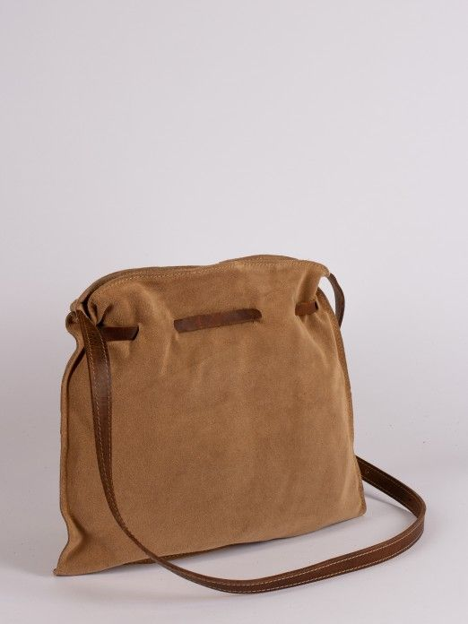 Suede Soft Crossbody Bag