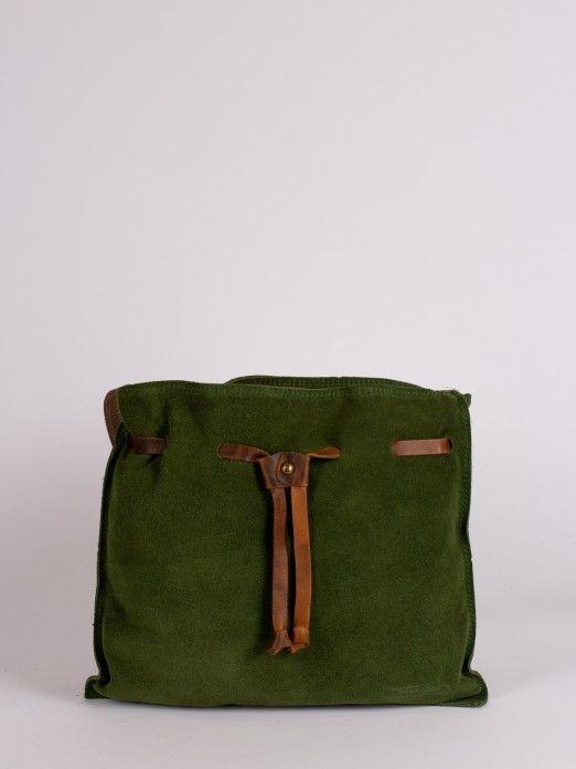 Suede Soft Crossbody Bag