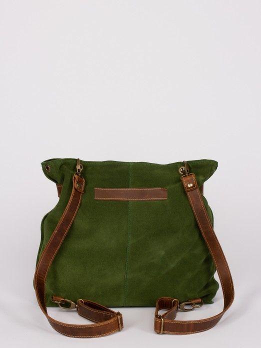 Suede Multifunctional Bag