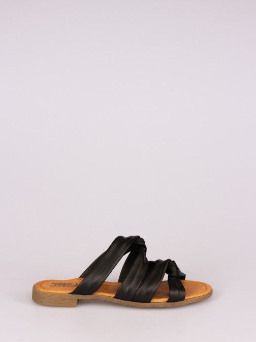 Double Knot Flat Slipper