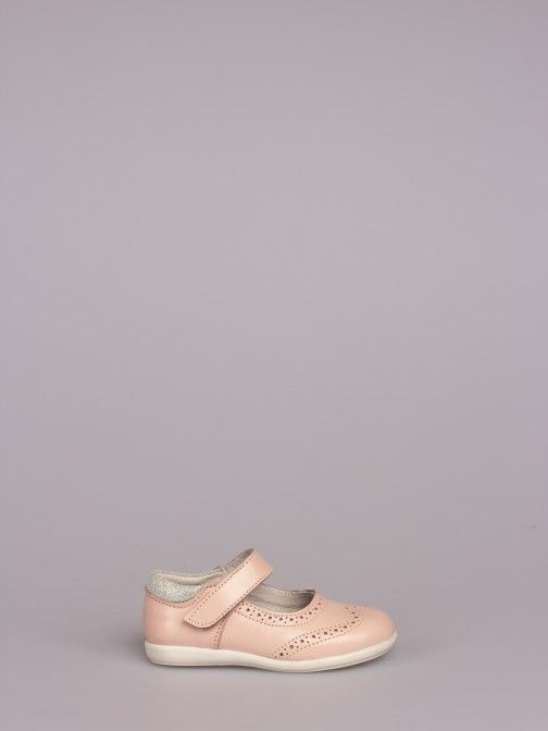Sapato Velcro Pele - 20/27