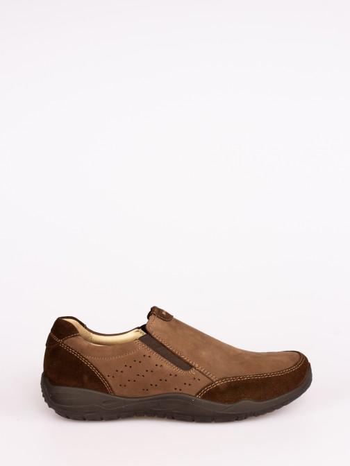 Sapato de Pala em Nobuck