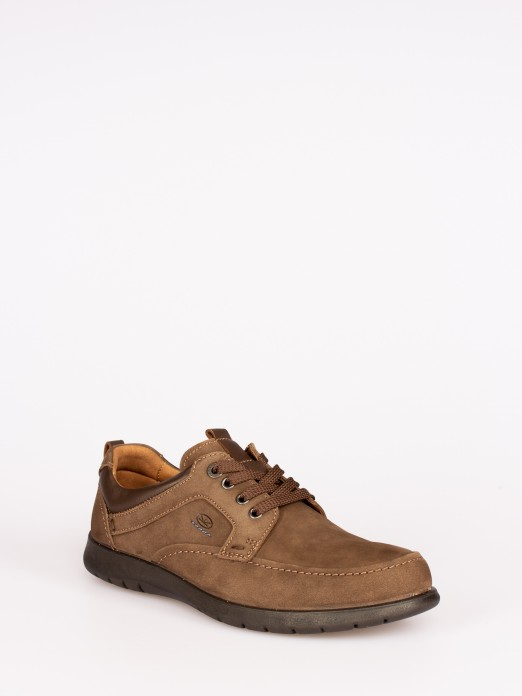Nubuck Lace Shoe