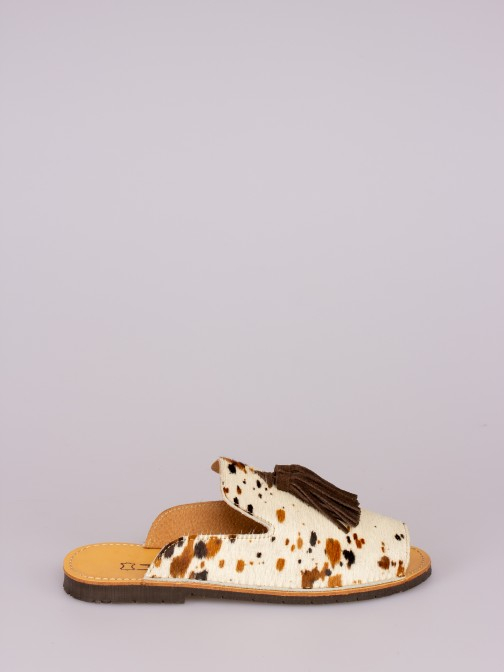 Mule Berloques Animal Print