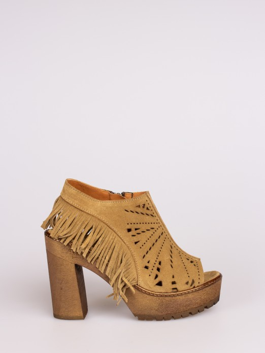 Fringed Sandal