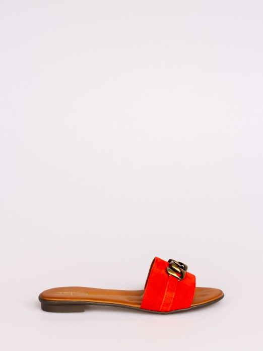 Slippers with Chain