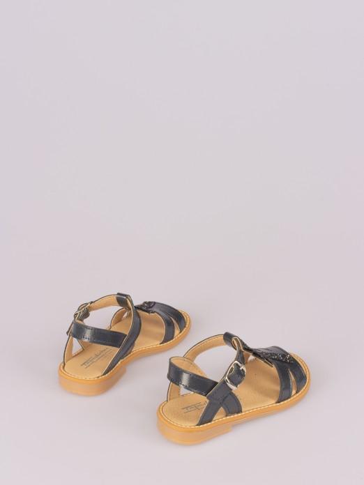 Sandália Aplicação Palmeira