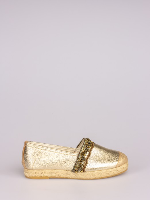 Espadrilles with Beads