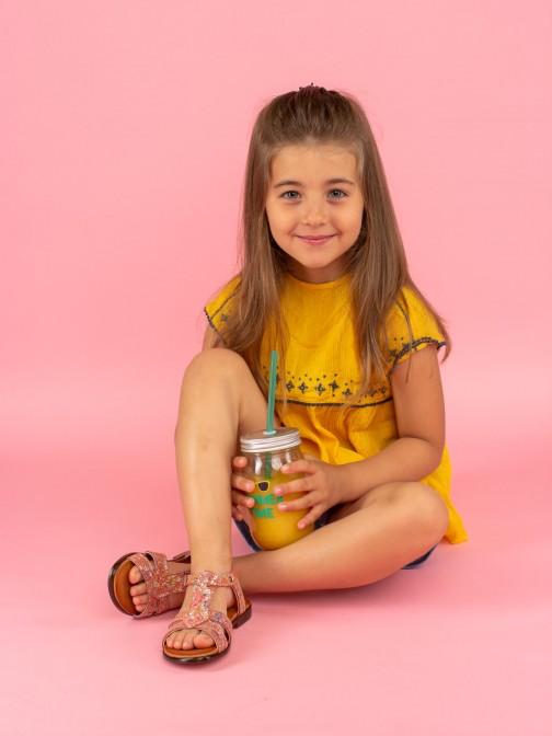 Sandália Estampado Multicolor