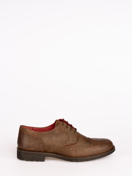 Sapato Oxford em Nobuck
