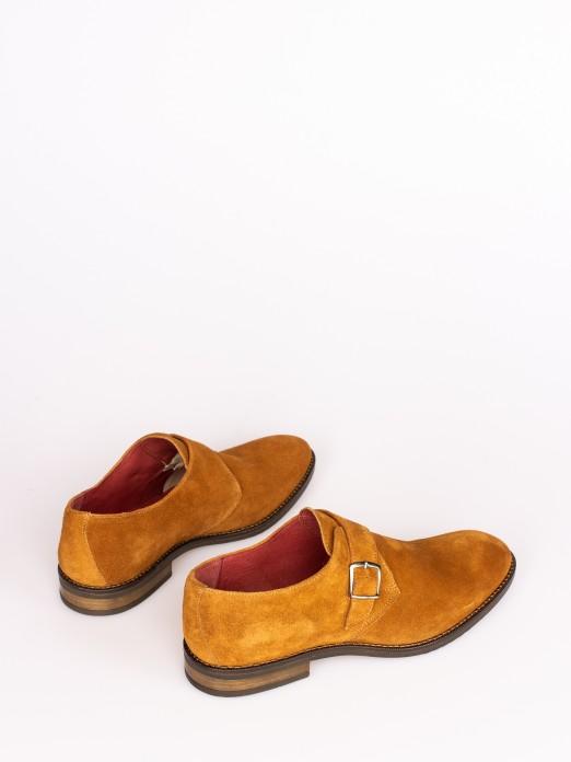 Suede Monk Shoes