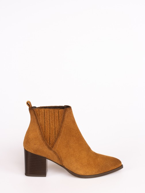 Classic Suede Ankle Boots