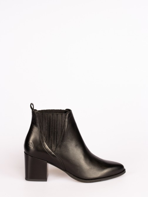 Classic Leather Ankle Boots