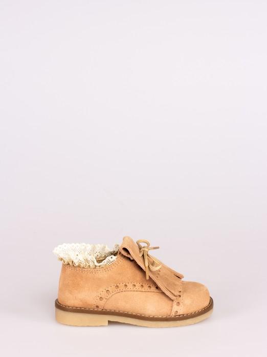 Preppy Lace-up Shoes