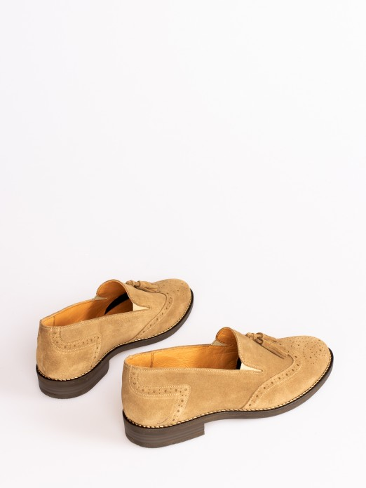 Sapato Camurça com Berloque