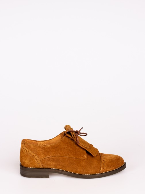 Frindged Suede Shoes